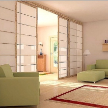Стеклянные перегородки для дома поделят ваше пространство, не создавая препятствий для света
