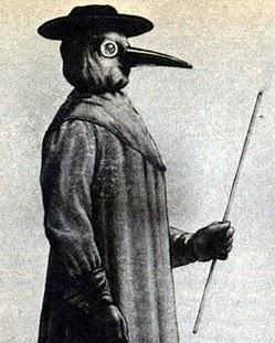 """Від """"пташиного дзьоба"""" до сучасних медичних масок"""