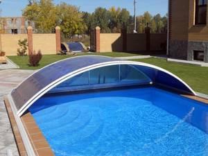Накриття з полікарбонату для басейну – для чого його використовувати?