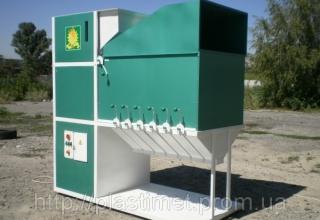 Зерновий сепаратор — зерно розсортоване правильно
