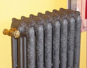 Чавунні радіатори опалення з найбільш оригінальним зовнішнім виглядом