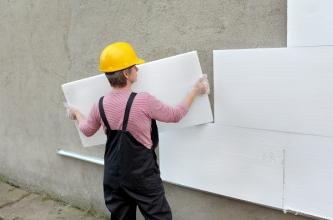 Як можна провести утеплення стін зовні безшовним методом?