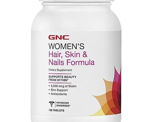 Вітамінно-мінеральний комплекс HAIR SKIN NAILS GNC