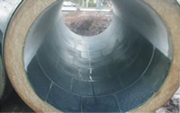 Базальтовий каналізаційний колектор для міського господарства