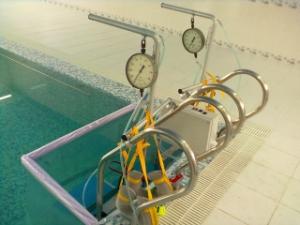 Универсальные аппараты дозированного подводного вытяжения позвоночника и суставов