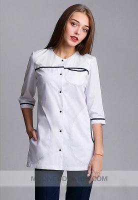 c086ad824d6e51 Медичний одяг повинен відповідати ряду вимог, але в основному тих, що  стосуються матеріалу, а не фасону. Тому навіть дивно, що класичний білий  халат так ...