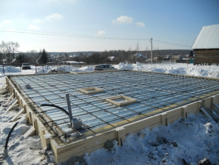 Нюанси сезону - купити бетон з доставкою взимку