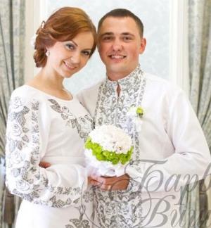 Весільна сукня з вишивкою  традиція afc3627a374cb