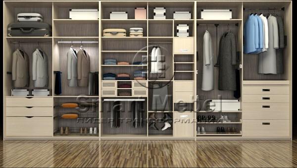 Выбираем мебель для гардеробной