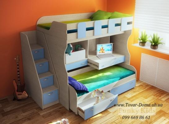 Выгоднее купить детскую кровать-чердак с комодом или шведской стенкой?