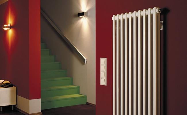 Вертикальные дизайн-радиаторы и их особенности