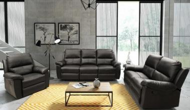 Шкіряні м'які меблі: вишукана краса на будь-який смак!
