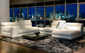 Шкіряні м'які меблі: ексклюзив для вашого будинку від «Valaga»