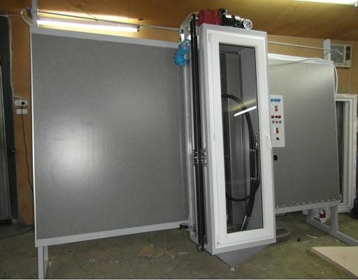 Пескоструйный станок для стекла и его особенность производства