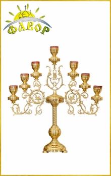 Церковний свічник семисвічник та його релігійне значення