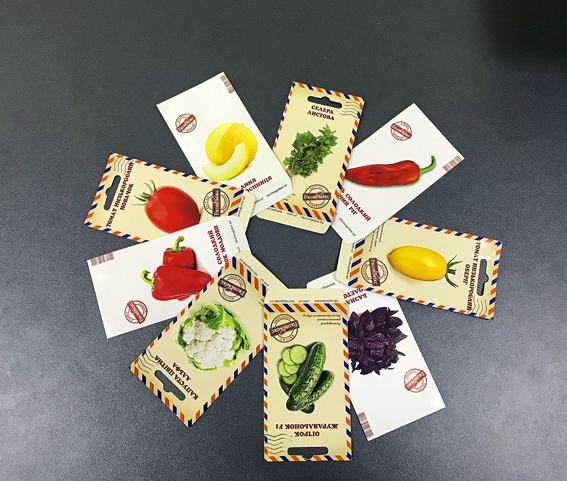 Якісні пакети для насіння: гарний урожай прибутків в насіннєвому бізнесі!
