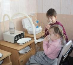 Які фізіопроцедури показані малюкові