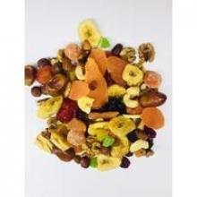 Суміш горіхів і сухофруктів – прекрасне джерело вітамінів при авітамінозі