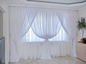 Купить тюль в гостиную, или как создать простор в комнате