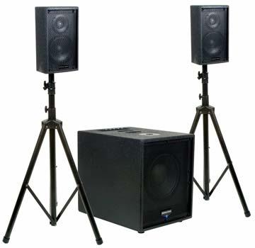 Звуковое оборудование для дискотек