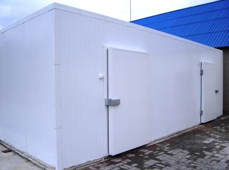 Продаж і встановлення холодильних камер у Києві