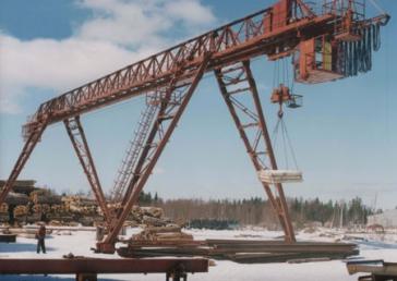 Технічне обслуговування вантажопідйомних кранів, вантажопідйомників і ліфтів - ПП «Южреммонтаж»