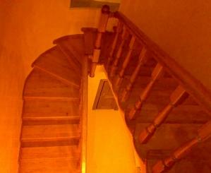 Спіральні сходи у Луцьку