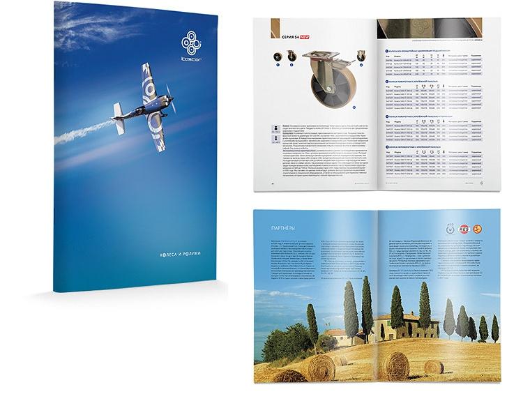 Вышел в свет новый каталог колес и роликов KASTOR