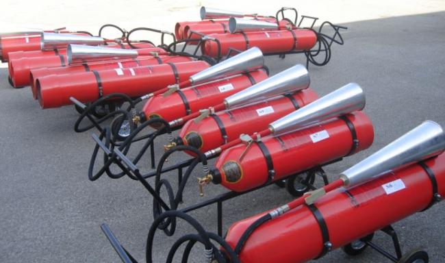 Продаем огнетушители углекислотные и пожарное оборудование