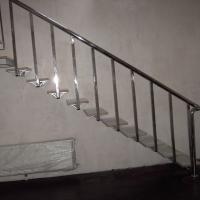 Перила для сходів з нержавіючої сталі