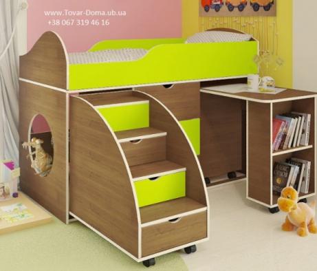 Для детей специальное предложение! 7% скидки на кровать-чердак