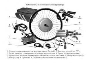 Надежный электрокомплект на велосипед