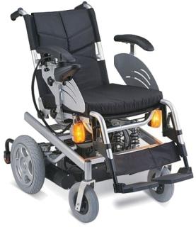 Кресло-коляска с приводом рычага