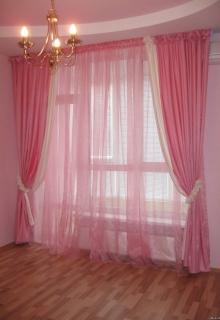Купити готові штори у вітальню