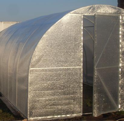 Пропонуємо нове накриття для теплиці - термотент