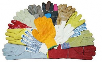 Великий асортимент - рукавиці робочі купити