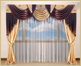 закажите красивые шторы для спальни в нашем интернет магазине