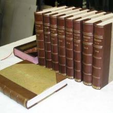 Професійне відновлення книг, які стали надбанням часу
