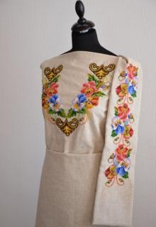 Заготовка плаття під вишивку - Оголошення - Схеми для вишивки ... 3d9f4ed19272b