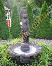 Хотите купить дачный фонтан?