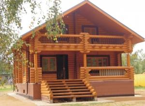 Дом из клееного бруса — выгодная альтернатива квартире!