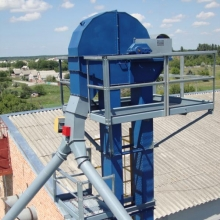 There are bucket elevators of ukrainian production on sale
