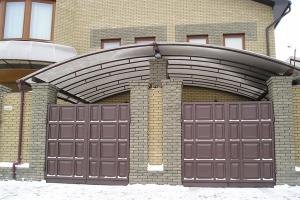 Виготовляємо розпашні ворота. Ціна - нижча ринкової