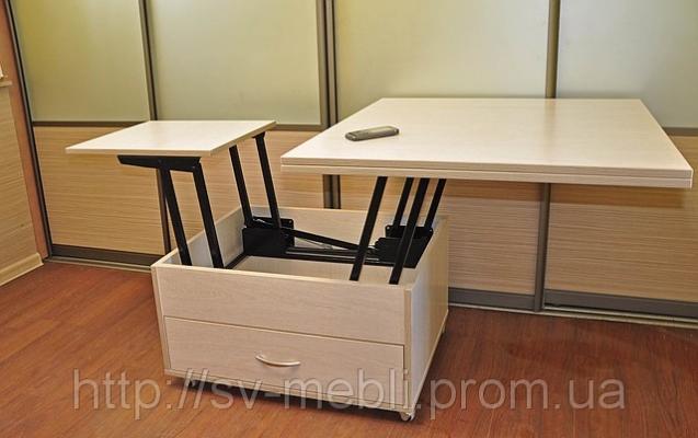 Столы-тансформеры — удобно и комфортно