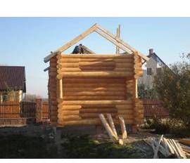Замовляйте брусові будинки недорого