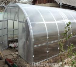 Теплиці із стільникового полікарбонату на plastimet.ub.ua