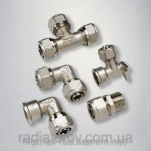 Пропонуємо купити фітинги для металопластикових труб