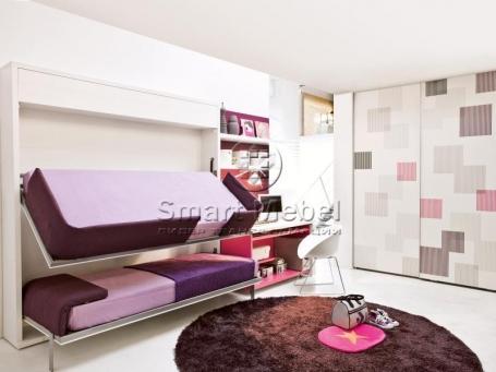 Купити двоповерхове ліжко можна на сайті sv-mebli.ub.ua