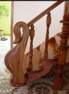 Виготовлення дерев'яних сходів