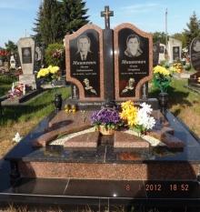 Виготовляємо подвійні пам'ятники (Луцьк, Ківерці, Рожище)